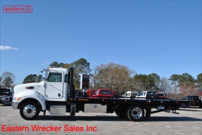 2019 Peterbilt 337, 300hp PX-7, Allison automatic, Air Brake, Air Ride, 22ft Jerr-Dan SRR6T-WLP Steel Carrier, Stock Number P7756
