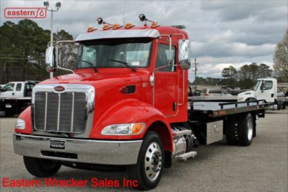 2019 Peterbilt 337 Extended Cab, PX-7-300hp, Allison Automatic, Air Brake, Air Ride, 22ft Jerr-Dan, SRS10 Side Recovery System, Stock Number P9548