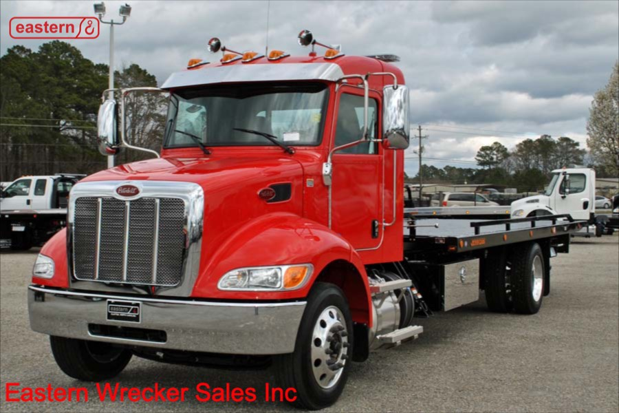 2019 Peterbilt 337 Extended Cab 300hp with SRS10 Side