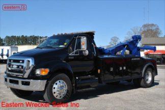 2008 Ford F750, 7.2L CAT-350, Allison, 33000lb GVWR, Jerr-Dan 14-ton Integrated Wrecker, Stock Number U5019