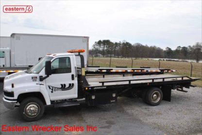 2004 GMC 5500, Duramax turbodiesel, Automatic transmission, with 21ft Jerr-Dan RRSB Steel Carrier, Stock Number U6292