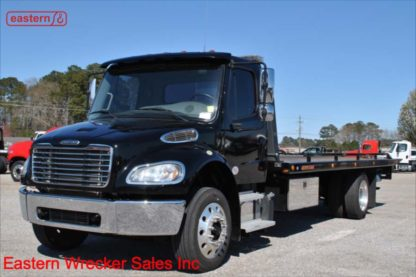 2017 Freightliner M2-106, ISB Cummins, Allison Automatic, air brake, air ride, 22ft Jerr-Dan SRR6T-WLP Steel Carrier, Stock Number U9195