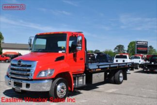 2019 Hino 250ALP-A, J08E Turbodiesel, Automatic, Air Ride, Air Brake, 22ft Jerr-Dan SRR6T-WLP Steel Carrier, Stock Number H2699