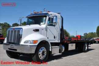 2019 Peterbilt 337 Extended Cab, PX-9-350hp, Allison automatic, 33,000lb GVWR, 24ft Jerr-Dan Medium Duty Carrier, Stock Number P0791