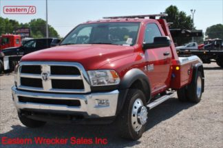 2018 Dodge Ram 4500 SLT 4x4 6.7L turbodiesel automatic with Jerr-Dan MPL-NG Self Loading Wheel Lift, Stock Number D1957