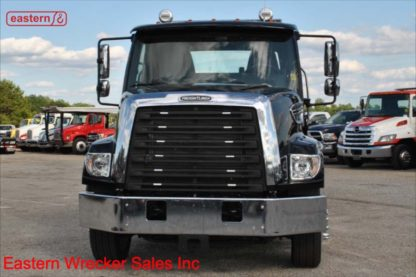 2020 Freightliner 108SD, Detroit DD8 7.7L Turbodiesel, Allison automatic, 24ft Jerr-Dan 8.5 ton Wide Steel Carrier, 33k GVWR, Stock Number F2952