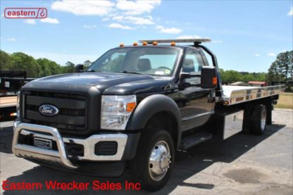 2016 Ford F550 XL 6.8L Gas Automatic 19ft Jerr-Dan NGAF Aluminum Carrier Stock Number U7774