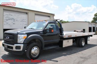 2016 Ford F550, 6.8L Gas, Automatic, 19ft Jerr-Dan NGAF Aluminum Carrier, Stock Number U7775