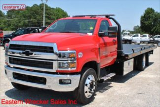 2019 Chevrolet 5500, 6.6L Duramax Turbodiesel 350hp, Allison automatic, 20ft Jerr-Dan SRR6T-WLP Steel Carrier, Stock Number C4844