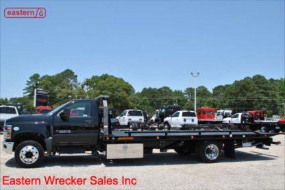 2019 Chevrolet 6500, 6.6L Duramax Turbodiesel - 350hp, Allison automatic, 22ft Jerr-Dan SRR6T-WLP Steel Carrier, Stock Number C8310