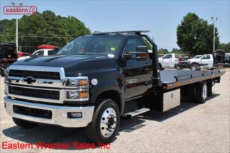 2019 Chevrolet 6500, 6.6L Duramax Turbodiesel - 350hp, Allison automatic, 22ft Jerr-Dan SRR6T-WLP Steel Carrier, Stock Number C8310