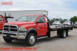 2018 Dodge Ram 5500 with 20ft Jerr-Dan SRR6T-WLP Steel Carrier, Stock Number D2036