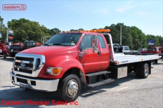 2006 Ford F650 with 21ft Jerr-Dan NGAR Aluminum Carrier, Stock Number U9584