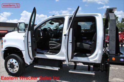 2019 Chevrolet 6500 Crew Cab 4x4 Duramax with 20ft Jerr-Dan SRR6T-WLP Steel Carrier, Stock Number C7652