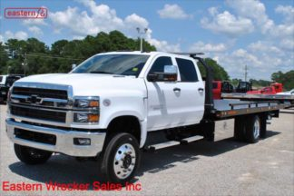 2019 Chevrolet 6500 Crew Cab 4x4 Duramax with 20ft Jerr-Dan SRR6T-WLP Steel Carrier, Stock Number C7652