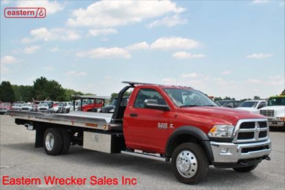 2018 Dodge Ram 5500 6.7L Cummins SLT with 20ft Jerr-Dan SRR6T-WLP Steel Carrier, Stock Number D2038