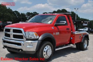 2018 Dodge Ram 4500 4x4 6.7L Cummins Automatic with Jerr-Dan MPL-NG Self Loading Wrecker, Stock Number D2081
