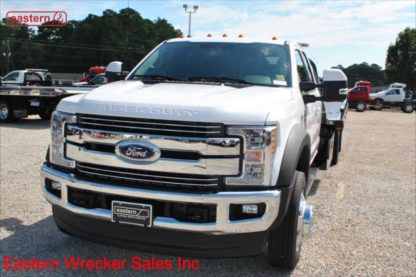 2019 Ford F550 Ext Cab Lariat 4x4 with 20ft Jerr-Dan SRR6T-WLP Steel Carrier, Stock Number F9248