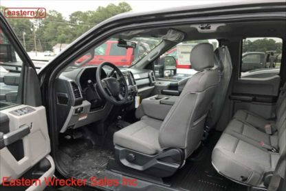 2019 Ford F550 Extended Cab, 4x4, 6.7L PowerStroke, TorqShift Automatic, XLT, 20ft Jerr-Dan NGAF6T-WLP Aluminum Carrier, Stock Number F9250