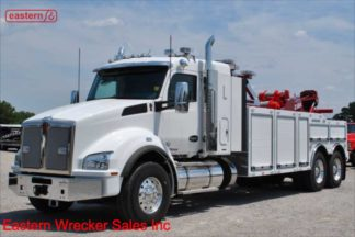 2019 Kenworth T880 with Jerr-Dan 25-ton Wrecker, Stock Number K0656