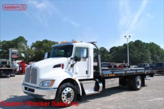 2019 Kenworth T270 with 22ft Jerr-Dan SRR6T-WLP Steel Carrier, Stock Number K1234