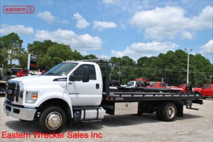 2017 Ford F650 with 21.5ft Century Steel Carrier, Stock Number U4926