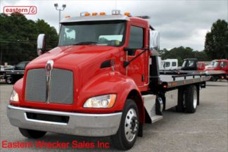 2019 Kenworth T270 with 22ft Jerr-Dan SRR6T-WLP Steel Carrier, Stock Number K1239