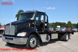 2019 Kenworth T270 PX-7 Allison Automatic with 22ft Jerr-Dan SRR6T-WLP Steel Carrier, Stock Number K1241