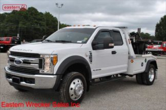2017 Ford F550 Ext Cab Powerstroke with Jerr-Dan MPL40 Twin Line Wrecker, Stock Number U7692