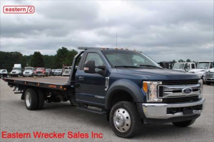 2017 Ford F550 XLT with 20ft Jerr-Dan Steel Carrier, Stock Number U8522
