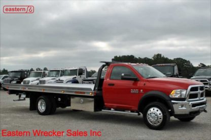 2018 Dodge Ram 5500 with 20ft Jerr-Dan NGAF6T-WLP Aluminum Carrier, Stock Number D2042