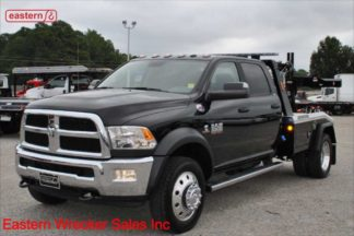 2018 Dodge 5500 4-Door 4x4 with Jerr-Dan MPL40 Twin Line Wrecker, Stock Number D6850