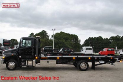 2020 Hino 258LP-B with 22ft Jerr-Dan SRR6T-WLP Wide Low Pro Steel Carrier, Stock Number H1725