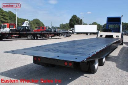 1989 Landoll 317 Series 48ft Traveling Axle Hydraulic Trailer, 35-ton, steel over wood decking, 102inch width, Stock Number U4601