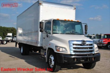 2014 Hino 268 with 26ft Box Van and LiftGate, Stock Number U5952