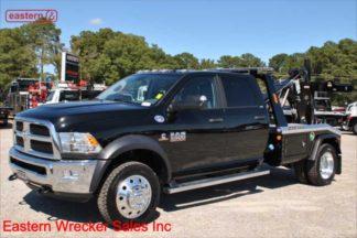 2018 Dodge Ram 5500 Crew Cab XLT 4x4, 6.7 Cummins, Automatic, Jerr-Dan MPL40 Twin Line Wrecker, Stock Number D6851