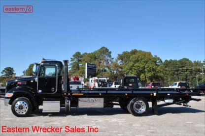 2019 Peterbilt 337 Paccar PX-7-300hp Allison Automatic with 22ft Jerr-Dan Steel Carrier, Stock Number P7753