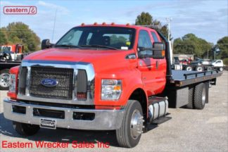 2017 Ford F650 Extended Cab with 22ft Jerr-Dan Steel Carrier, Stock Number U5513