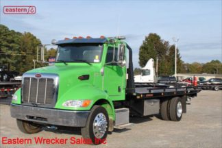 2017 Peterbilt, PX-7-300hp, Allison, 22ft Jerr-Dan SRR6T-WLP 6-ton Steel Carrier, Stock Number U0202