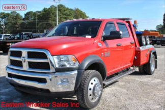 2017 Dodge Ram 5500 Crew Cab 4x4 with Jerr-Dan MPL40 Twin Line Wrecker, Stock Number U1720