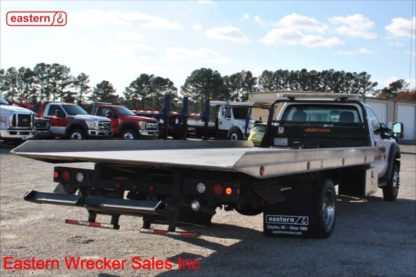 2014 Ford F550 Gas with 19ft Jerr-Dan NGAF Aluminum Carrier, Stock Number U3769