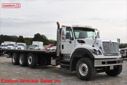 2013 International 7600 with 30ft Jerr-Dan 15-ton Industrial Carrier, Stock Number U4712
