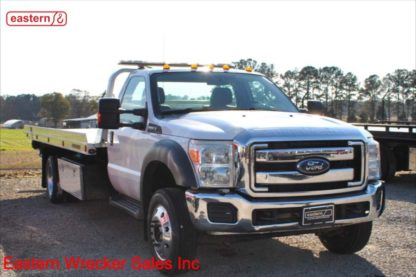 2013 Ford F550 Gas with 19ft Jerr-Dan NGAF Carrier, Stock Number U4857