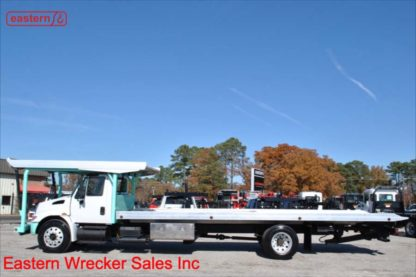 2003 International with 28ft Chevron MultiCar Carrier, Stock Number U9560