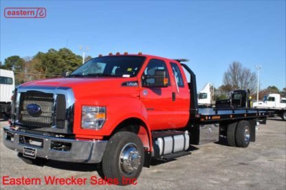 2019 Ford F650 Ext Cab with 22ft Jerr-Dan Steel Carrier, Stock Number F0713