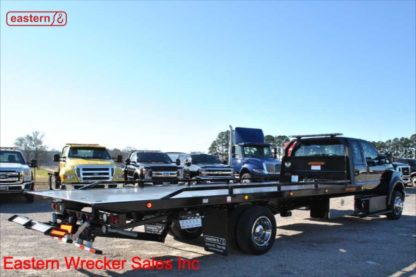 2019 Ford F650 Extended Cab with 22ft Jerr-Dan SRR6T-WLP Steel Carrier, Stock Number F0715