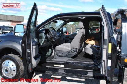2019 Ford F550 Ext Cab 4x4 with 20ft Jerr-Dan SRR6T-WLP Steel Carrier, Stock Number F2201