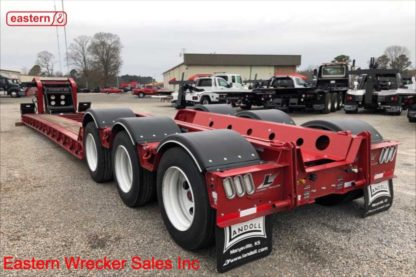 2020 Landoll 855E Construction/Paver Combo Detachable Trailer, Stock Number L7734