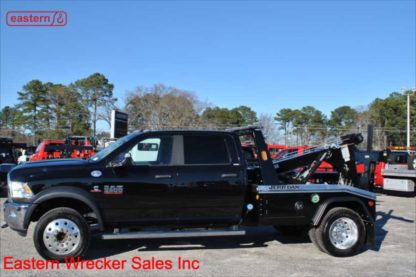 2018 Dodge 5500 Crew Cab 4x4 SLT with Jerr-Dan MPL40 Twin Line Wrecker, Stock Number D2580