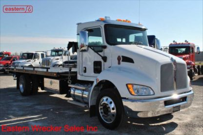 2019 Kenworth 300hp Jerr-Dan SRS10 Side Recovery System and 22ft Jerr-Dan Carrier, Stock Number K0999